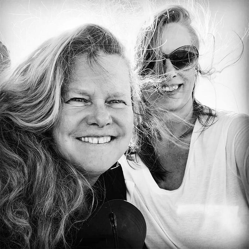 Heidi Stangeland and Torund Bryhn